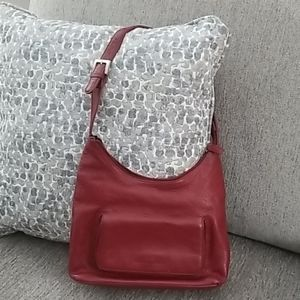 Burgundy Stone Mountain crossbody purse